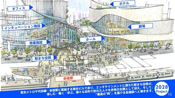赤坂エンタテインメント・シティ 外観イメージ