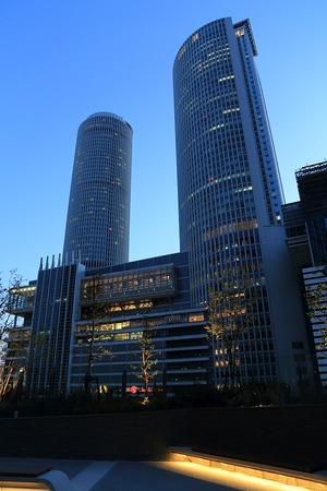 大名古屋ビルヂング スカイガーデンからの眺め