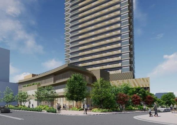西新宿五丁目中央南地区第一種市街地再開発事業 完成予想CG