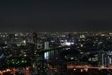 夜景と隅田川