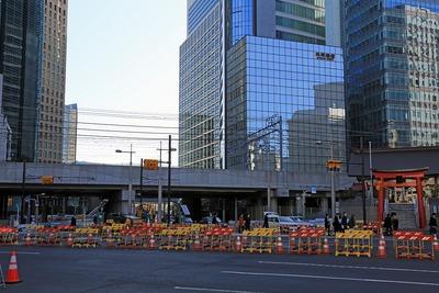 環状2号線の新橋側