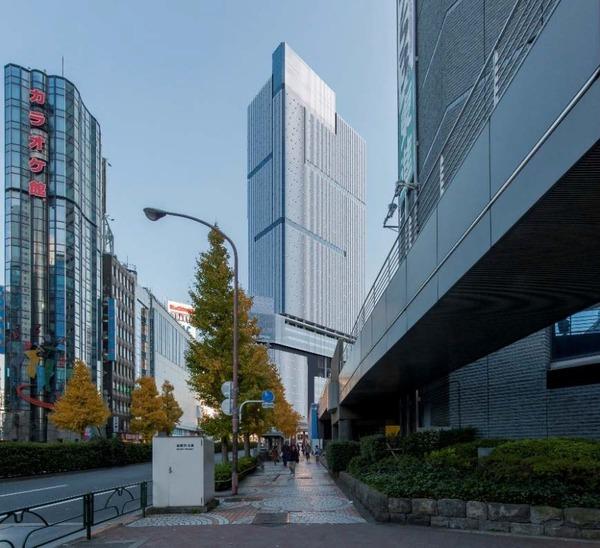 (仮称)新宿駅西口地区開発計画 景観シミュレーション