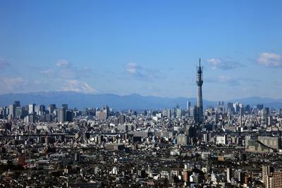 アイリンクタウン市川から見た東京スカイツリー