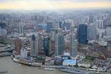オリエンタルパールタワーから見た上海