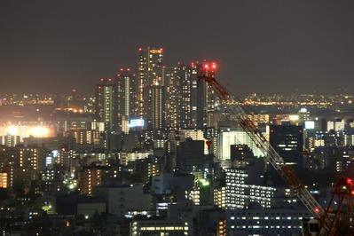 ブリリアタワー東京から東雲夜景
