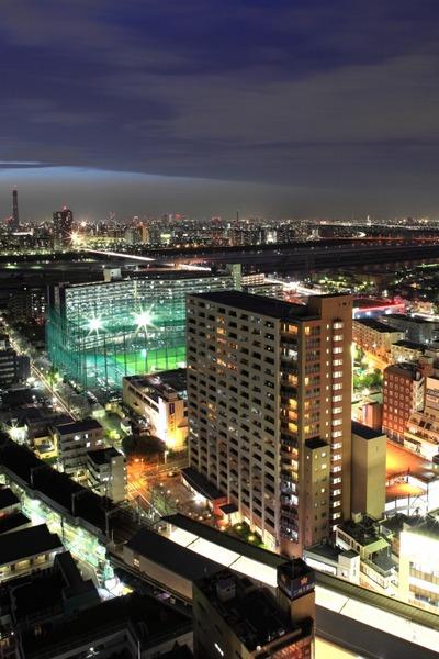 グランヒルズ東京イーストの夜景