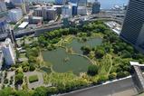 世界貿易センタービルから旧芝離宮恩賜庭園