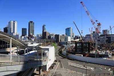 名古屋の超高層ビル群とグローバルゲート