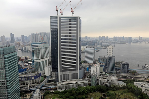 竹芝の超高層ビル群