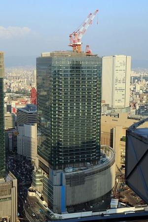 梅田スカイビルから見たグランフロント大阪 Aブロック