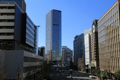 田町駅前からの眺め