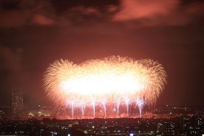 市川&江戸川花火大会