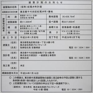 (仮称)紀尾井町計画