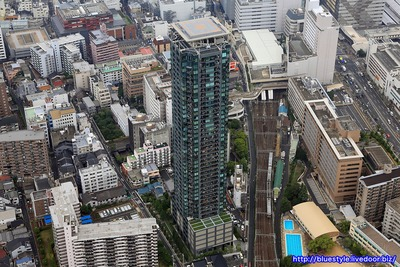 シティタワーグラン天王寺の空撮