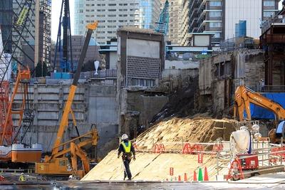 解体中のホテルオークラ東京 本館