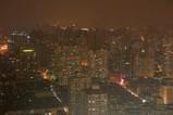 上海の超高層マンションの夜景