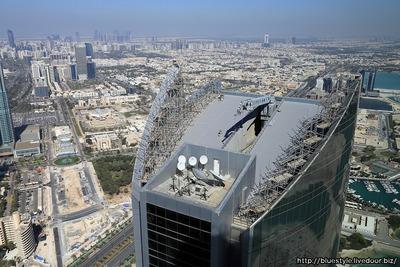 エティハド・タワーズからの眺め