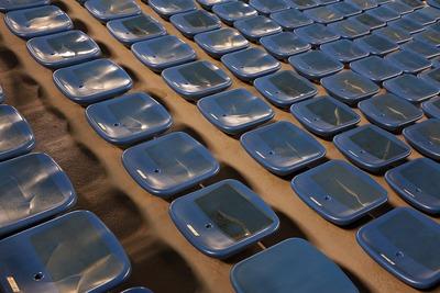 国立競技場ファイナル 椅子