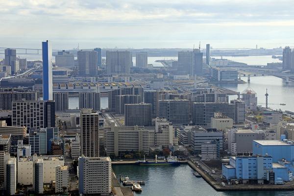 カレッタ汐留からの眺め