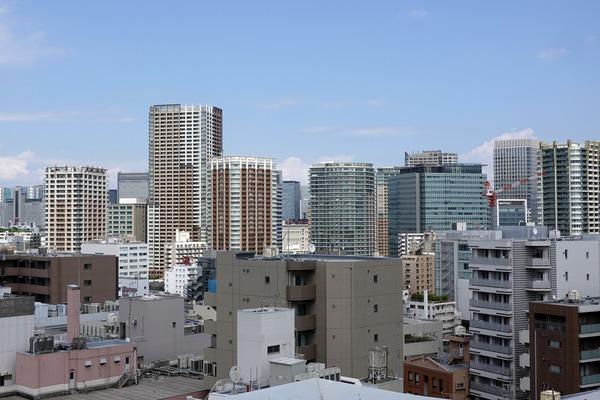 TOCビルの屋上からの眺め