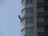 シティタワー大崎ステーションフロント・窓拭き
