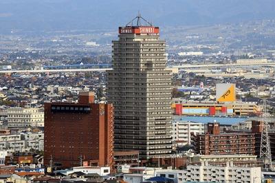 タワー111から見た信開アーバンシティセントラル