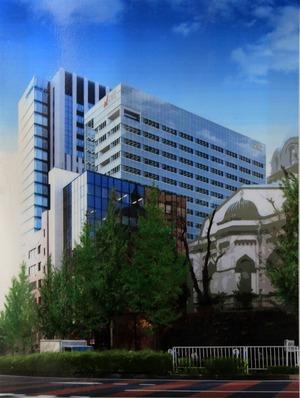 日本大学理工学部駿河台校舎キャンパス整備事業(南棟)外観図