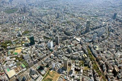 空撮 渋谷周辺