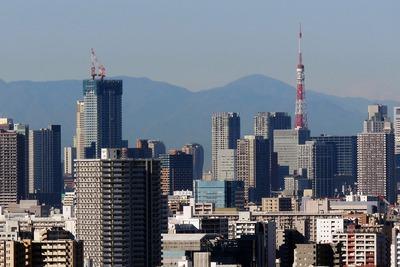 キャピタルゲートプレイスと東京タワー