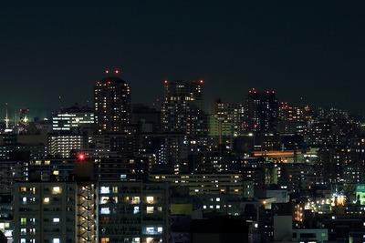 北千住方面の夜景