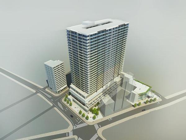 大宮駅西口第3-B地区第一種市街地再開発事業 完成予想図