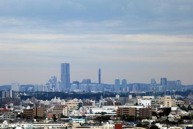 中目黒アトラスタワーから横浜方面