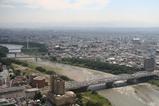 群馬県庁からの眺め