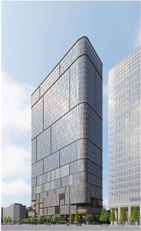 虎ノ門一丁目東地区第一種市街地再開発事業 イメージパース