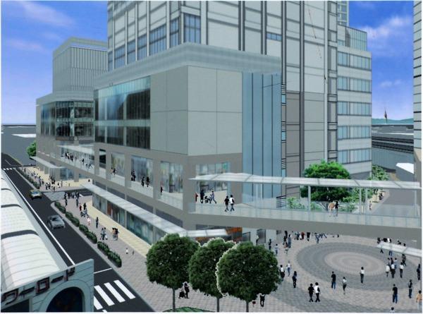南小岩六丁目地区第一種再開発事業 歩行者ネットワーク