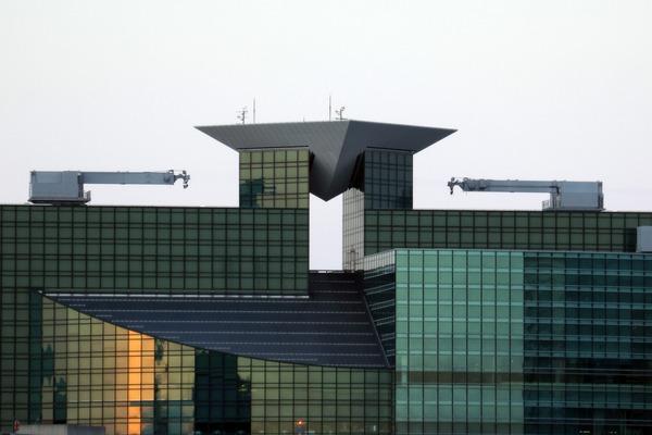 世界貿易センタービルから見た汐留シティセンター