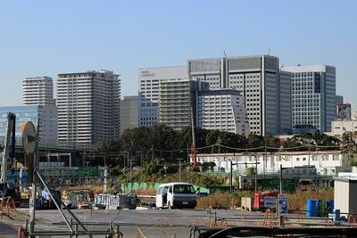 品川シーサイドの超高層ビル群
