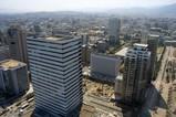 福岡タワーから百道浜の超高層ビル群