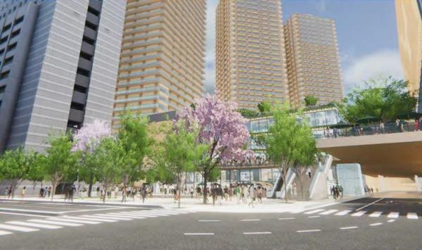 柏駅西口北地区市街地再開発事業 完成イメージ