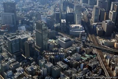 日本橋室町の空撮