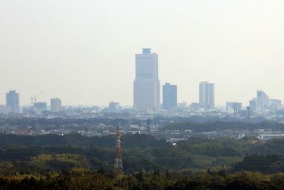 大草山展望台から見た浜松市街