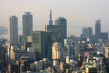 クラウンプラザ神戸から三宮方面