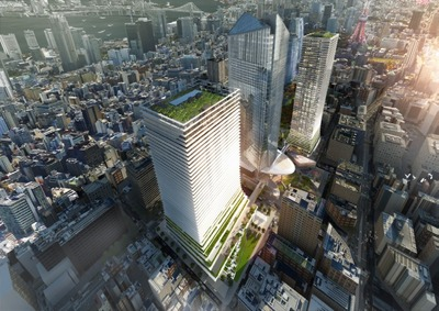 (仮称)虎ノ門ヒルズ ビジネスタワー 完成予想図