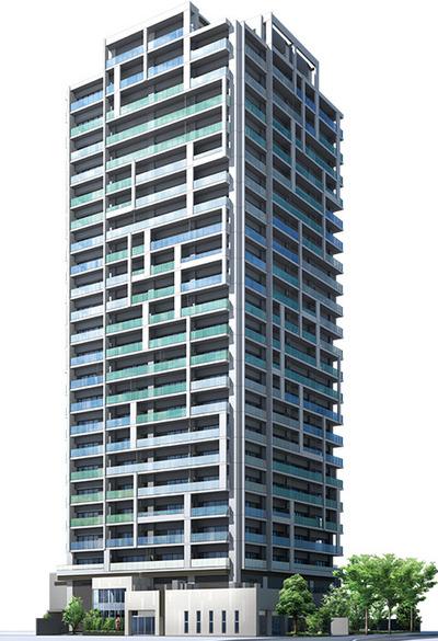 ザ・パークハウス中野タワー 完成予想図
