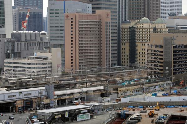 大阪駅西高架エリア開発