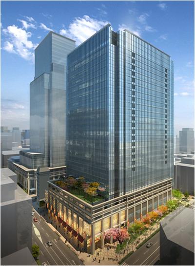 日本橋室町三丁目地区第一種市街地再開発事業A地区 完成イメージ図