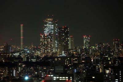 赤プリ36階から池袋方面の夜景