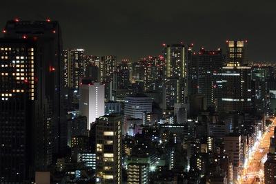 東京タワーから港南方面の夜景