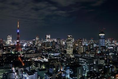 東京タワー夜景「哀悼の光」