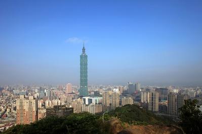 像山から台北101